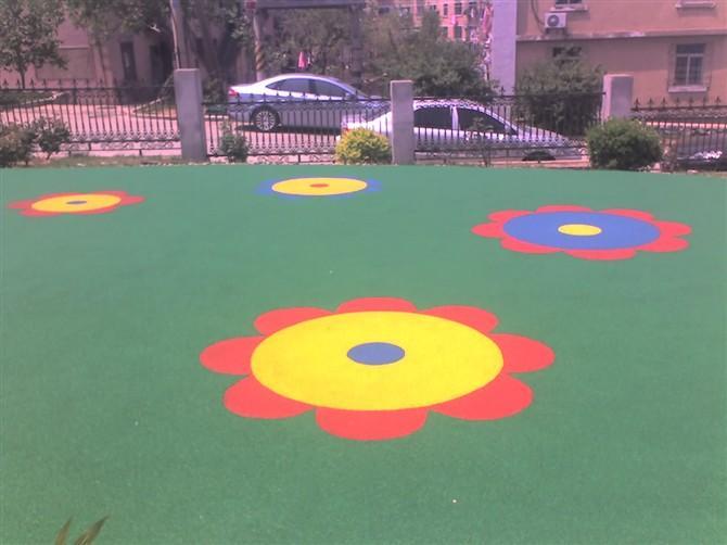 天津市塘沽区第九幼儿园EPDM橡胶颗粒